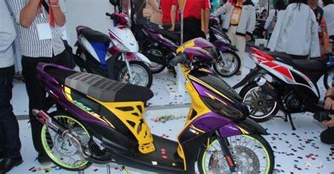 Aksesoris Motor Velg Racing New Blue Mio Xeon Mio J Mio Gt Beat Vario modifikasi mio j pelek 17 jari jari motor racing