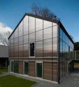 modern eco home a livable sustainable greenhouse in belgium modern house designs