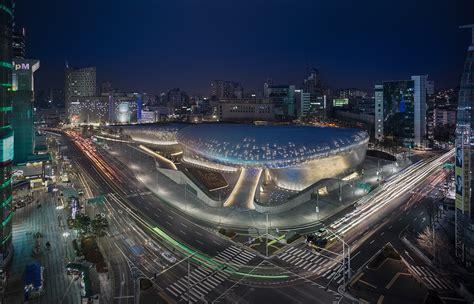 design center korea dongdaemun design plaza zaha hadid architects
