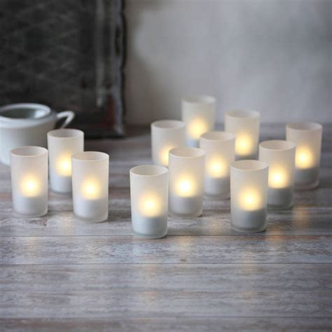 flameless pillar candles glancing framed mirror in small lights flameless candles tea lights votives