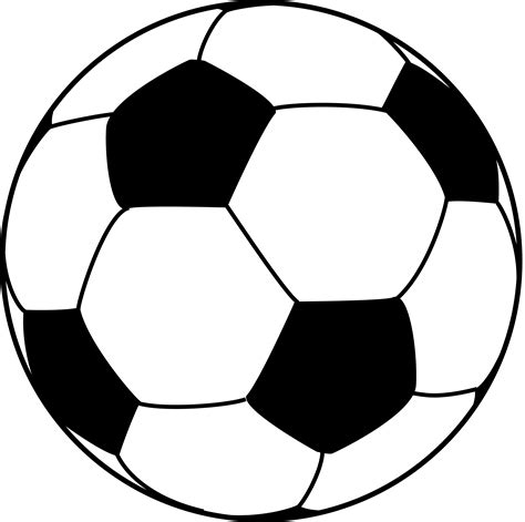 Soccer Ball Template Clipart Best Soccer Template