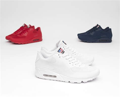nike air max  hyperfuse usa pack  navy colourway