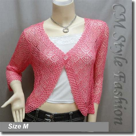pink pattern cardigan pink crochet sweater crochet and knit