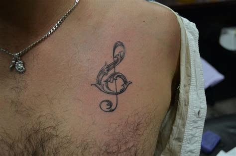 small music tattoos for men small tattoos for guys creativefan