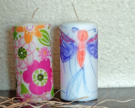 candle craft projects craft personalized candles honeybear