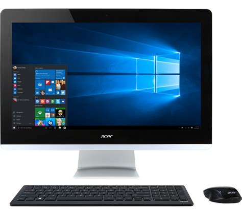 Laptop Acer Aspire Z3 acer aspire z3 710 23 8 quot touchscreen all in one pc 12 gb