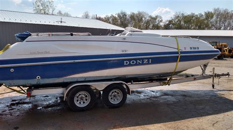 donzi 235 sport deck boat for sale from usa - Donzi Deck Boats