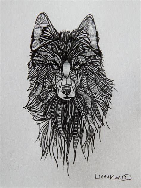 how to draw a wolf tattoo wolf tattoo step by step wolf tattoo sketch by laurenmarwood on deviantart
