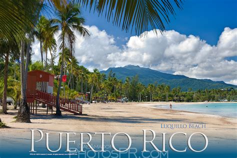 puerto rico luquillo beach poster photosprcom