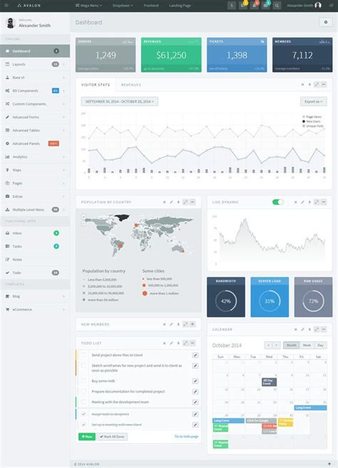 web design dashboard에 있는 nicholas van님의 핀 pinterest 디자인