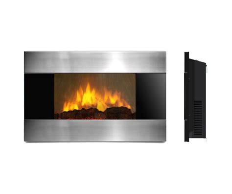 wall mounted fireplace ambionair led wall mounted fireplace ef 1510 sl