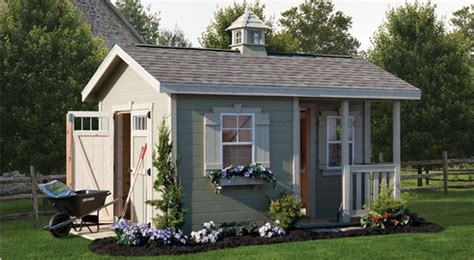 cottage style garden sheds cottage shed amish yard