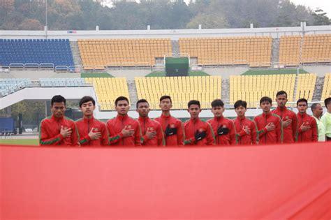jadwal timnas indonesia u 19 vs korea selatan pertegas