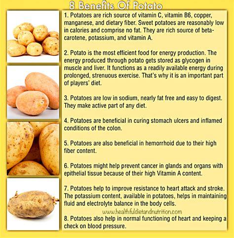benefits of a health benefits of potato