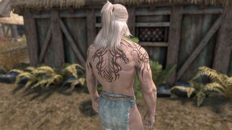 skyrim tattoo mod 100 kj tattoos overlay plugins for skyrim nexus