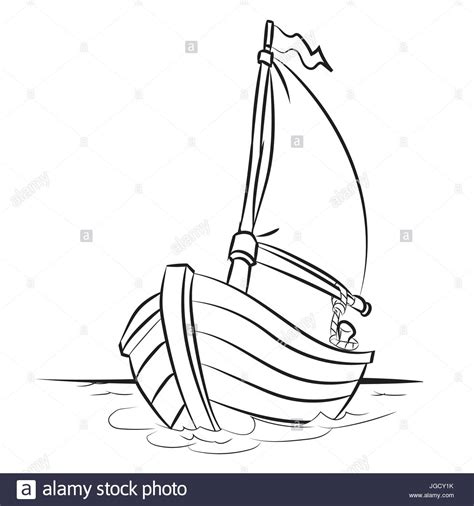 boat cartoon images black and white hand drawn sketch of boat isolated black and white