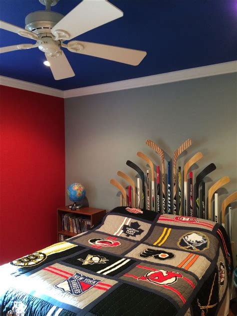 cool hockey bedrooms hockey bedroom cool ideas pinterest