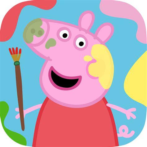 peppa pig painting free peppa s paintbox bestappsforkids