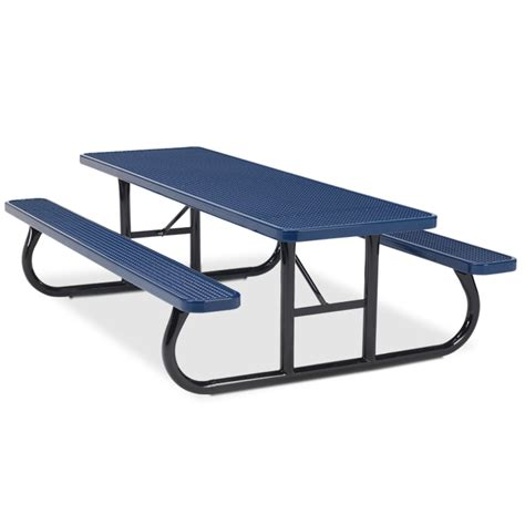8 rectangular expanded steel table portable frame
