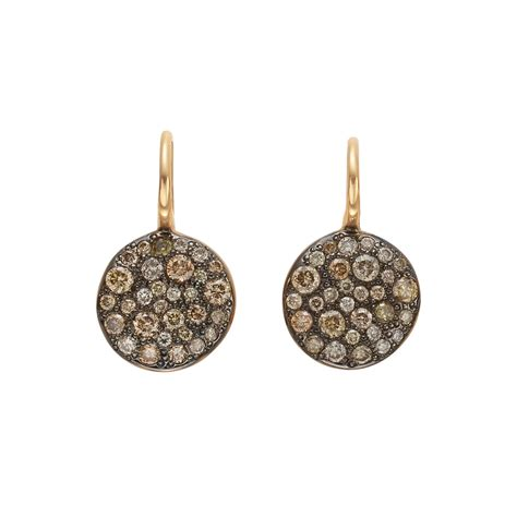 pomellato sabbia pomellato brown quot sabbia quot earrings betteridge