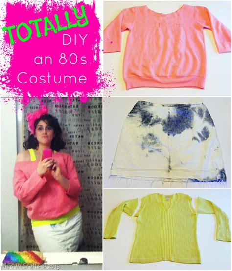 80s costumes diy totally diy an 80s costume mad costumes and craft