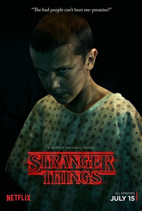 stranger  poster promozionali cast prima stagione season  il criticatore  telefilm