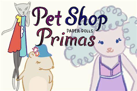 doodle pet shop pet shop primas paper dolls kid can doodle