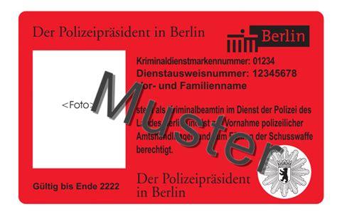 Aufnäher In Berlin Kaufen by Amtskennzeichen Und Dienstgradabzeichen Berlin De