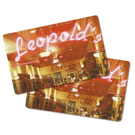Ice Gift Card - in store leopold s gift card leopold s ice creamleopold s ice cream