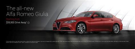 alfa romeo giulia 59 9k drive away offer