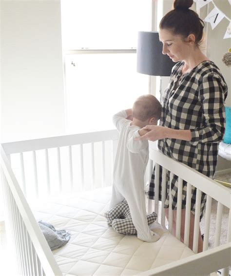 Baby Crib Review by Brands We Naturalmat Crib Mattresses Momma Society