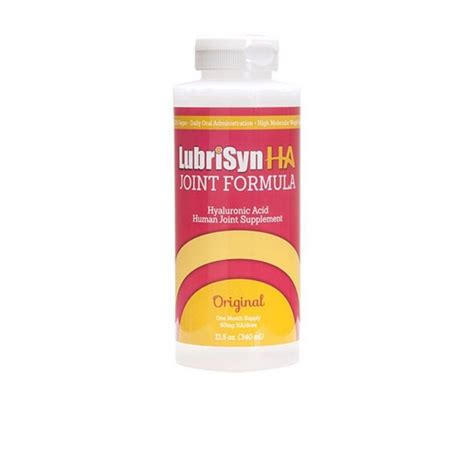 supplement for joints lubrisyn ha human joint supplement