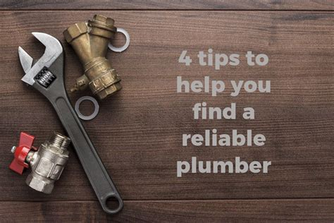 Find A Plumber Throwing A Spanner In The Works 4 Tips To Help You Find