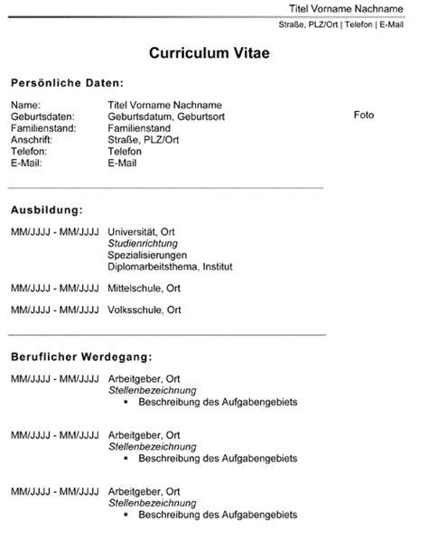 Lebenslauf Vorlage Nach Onorm Bewerbungsschreiben Muster Bewerbungsschreiben 214 Sterreichische Norm