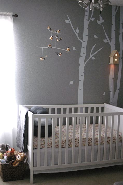 woodland nursery  baby girl project nursery
