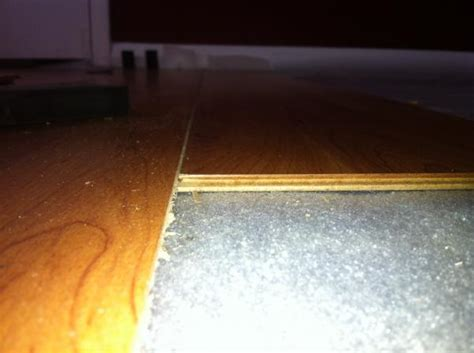 laminate flooring tongue and groove issues doityourself com community forums