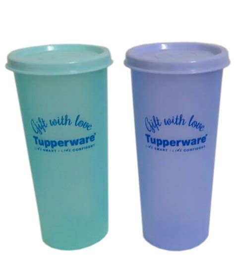 tupperware rainbow tumblers set of 2 340ml available at