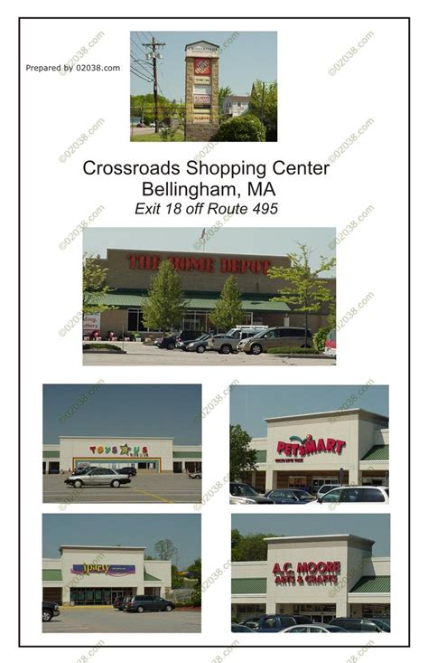 crossroads shopping center frankin ma massachusetts