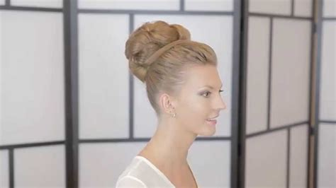 Wedding Hair Ballerina Bun high ballerina bun wedding hairstyle demonstration