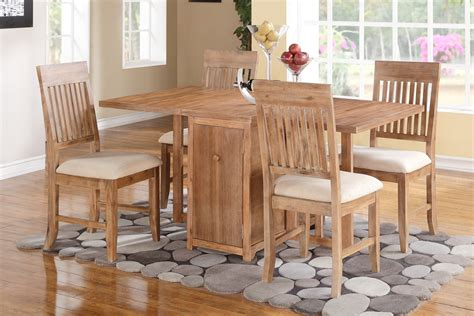 Storage Dining Table And Chairs F2415 Dining Table Lower Storage Welcome To Decoreza