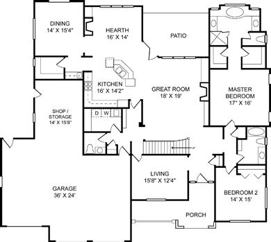 Flor Plan by Custom On Site Residential Floorplans Colorado New