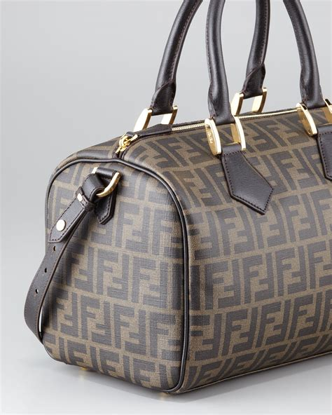 Design Your Own Fendi Bag The Fendi Artist Baguette by Lyst Fendi Zucca Canvas Boston Bag In Brown