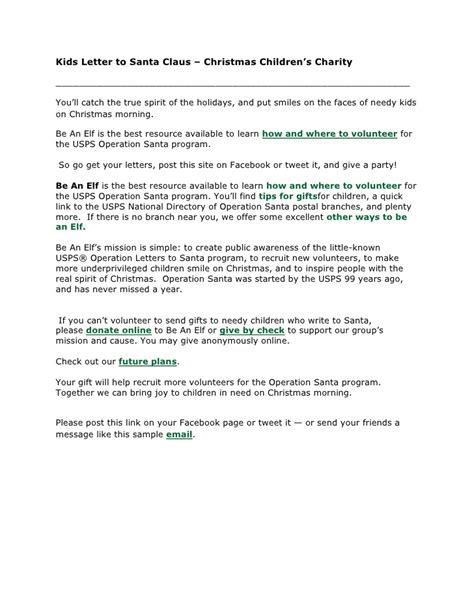 Sponsorship Letter Pearl 28 Charity Santa Letter Santa Letter Personalised Letters From Santa Gateshead Local