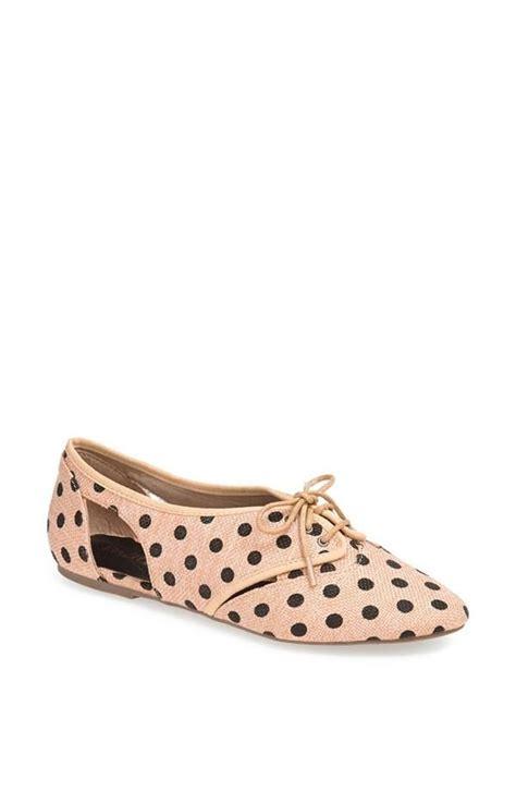polka dot oxford shoes polka dot flats top pins nordstrom