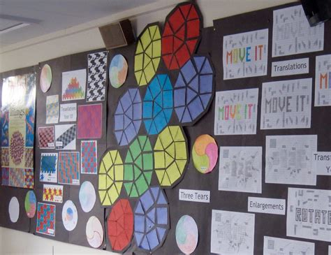 classroom display ideas artful maths