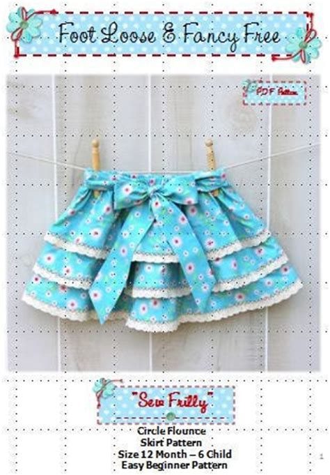 design pattern explained simply pdf sew frilly skirt pattern new easy circle flounce design