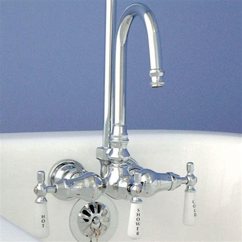 Faucet For Clawfoot Tub With Shower Diverter by Special Clawfoot Tub Faucet With Shower Diverter The Decoras
