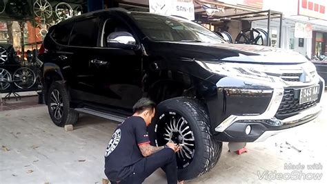 Cover Ban All New Pajero modifikasi new pajero sport dakar velg hsr whell 20 quot ban toyo proxes st3 made in japan