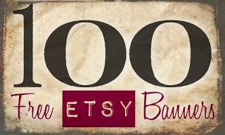 Sweetly Scrapped Free Etsy Banners Free Etsy Shop Banner Templates