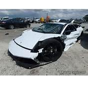 White Finished Example Of The Lamborghini Murcielago Has Been